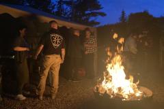 Gemeinschaftliche Abende am Feuer